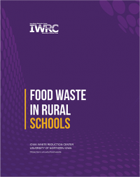 "Cover of IWRC whitepaper, ""Food Waste in Rural Schools"""
